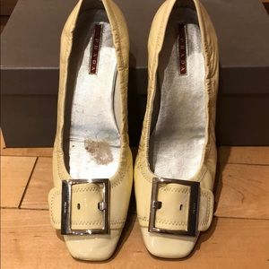 Woman Prada flat, patent leather